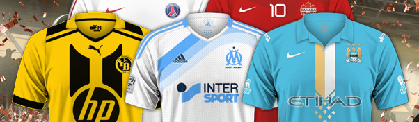 Création de maillots Football Manager