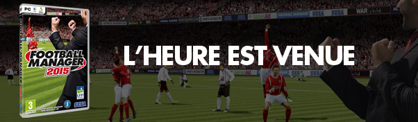 Football Manager 2015 disponible!