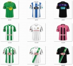 Maillots FC'12 Portugal