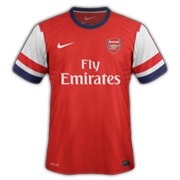 Maillots SS'12/13 Angleterre